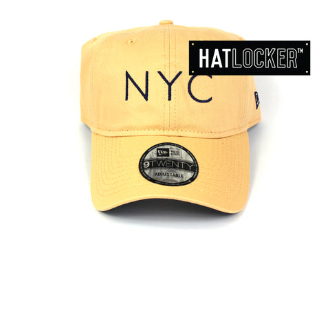 New Era New York City Mango Mocha Curved Brim Hat