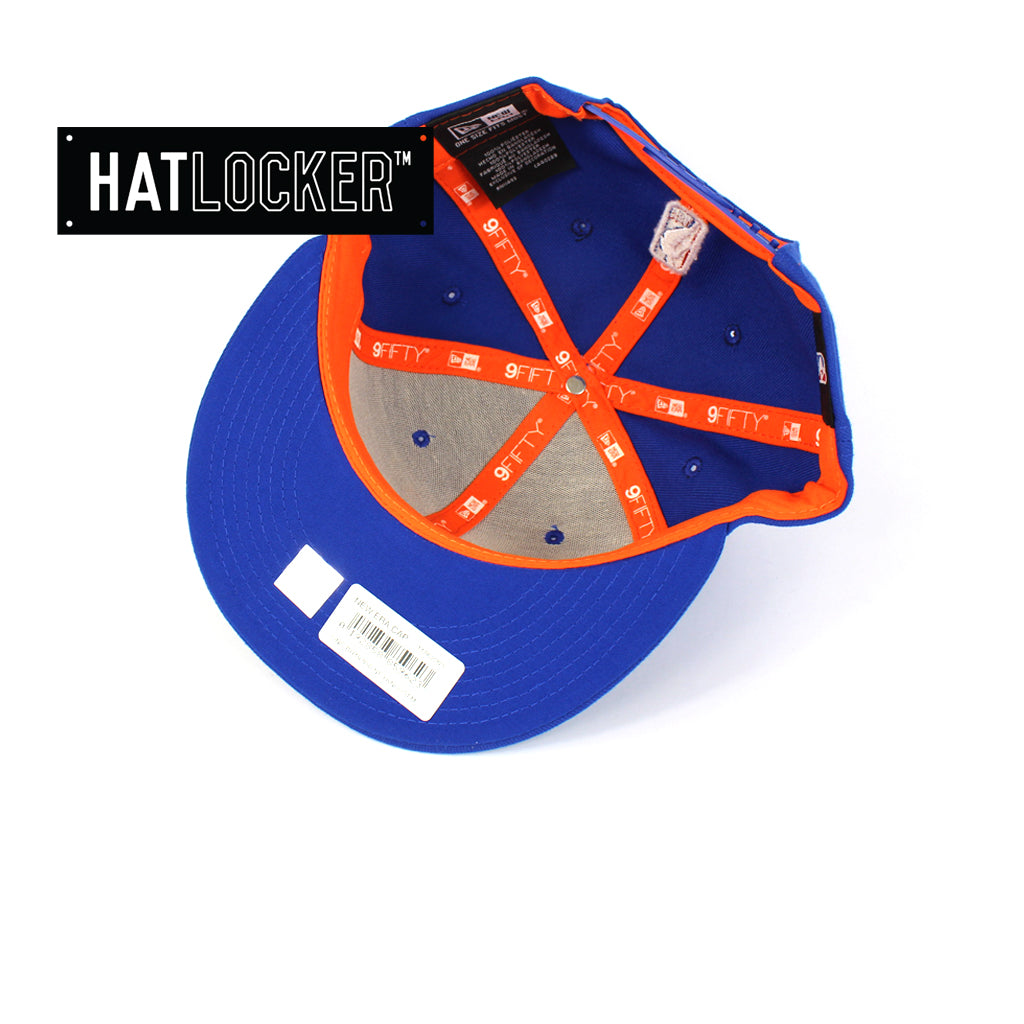 New Era New York Knicks Back Half Team Colour Snapback Cap