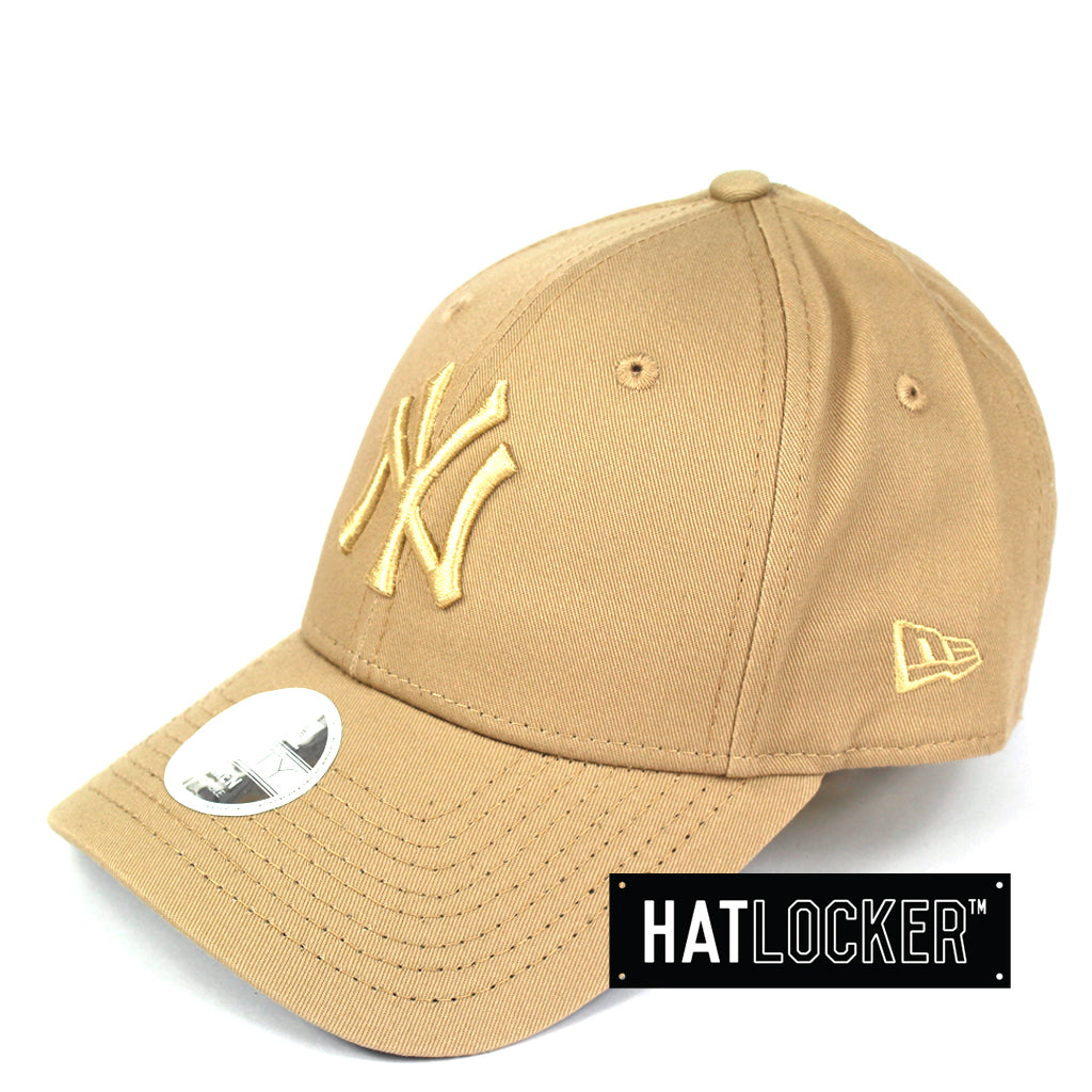 a4d073974f75c New Era Women s New York Yankees Camel Curved Brim