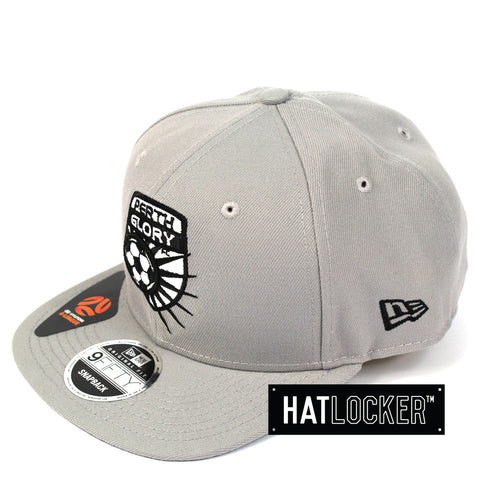 New Era Perth Glory Grey Snapback Hat