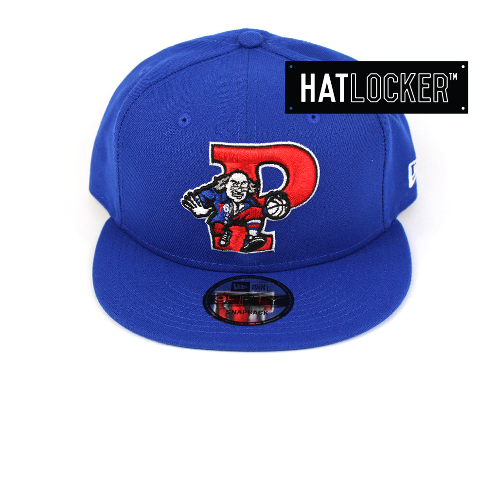 New Era Philadelphia 76ers Back Half Team Colour Snapback Hat