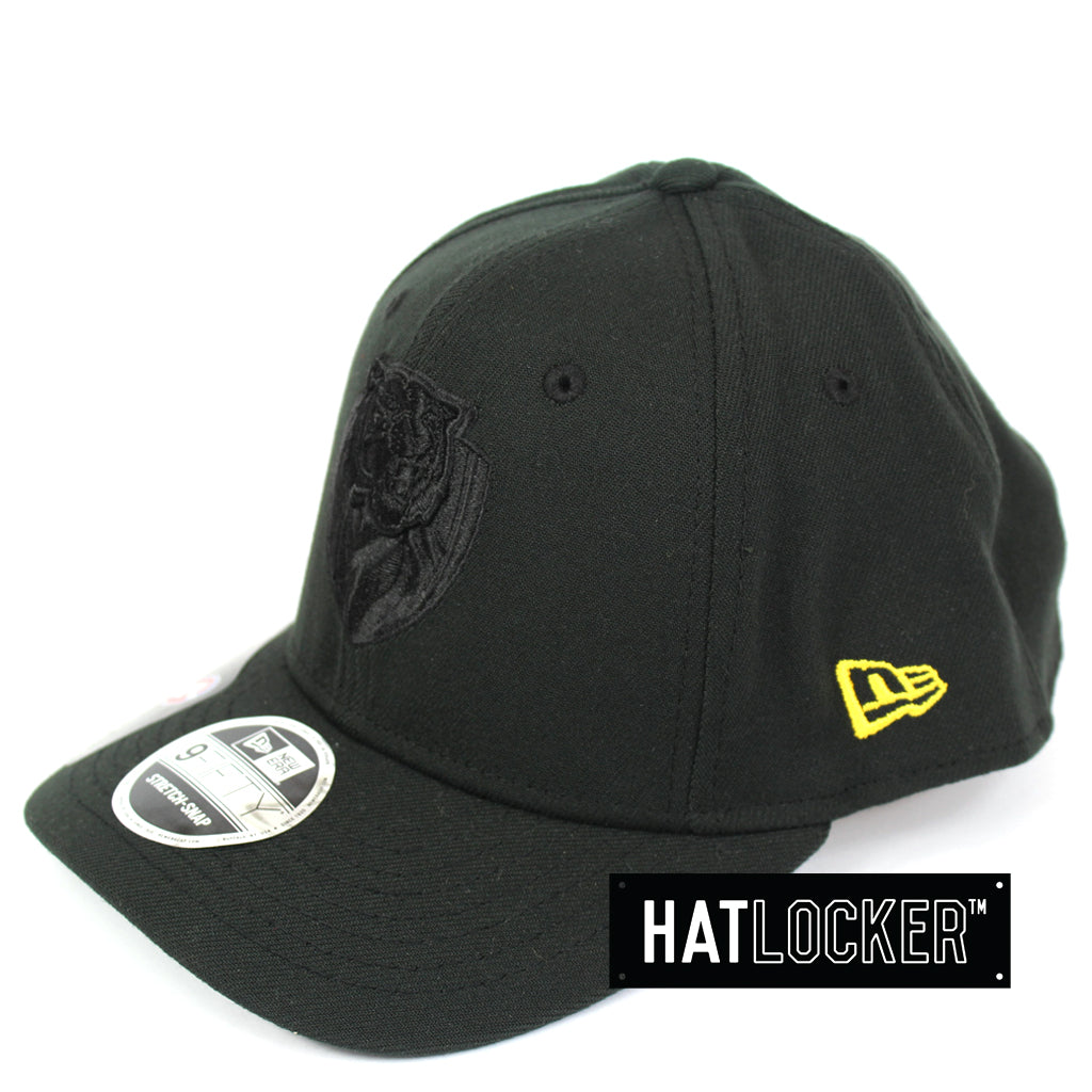 New Era Richmond Tigers Black On Black Precurved Snapback