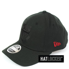 New Era St Kilda Saints Black On Black Precurved Snapback