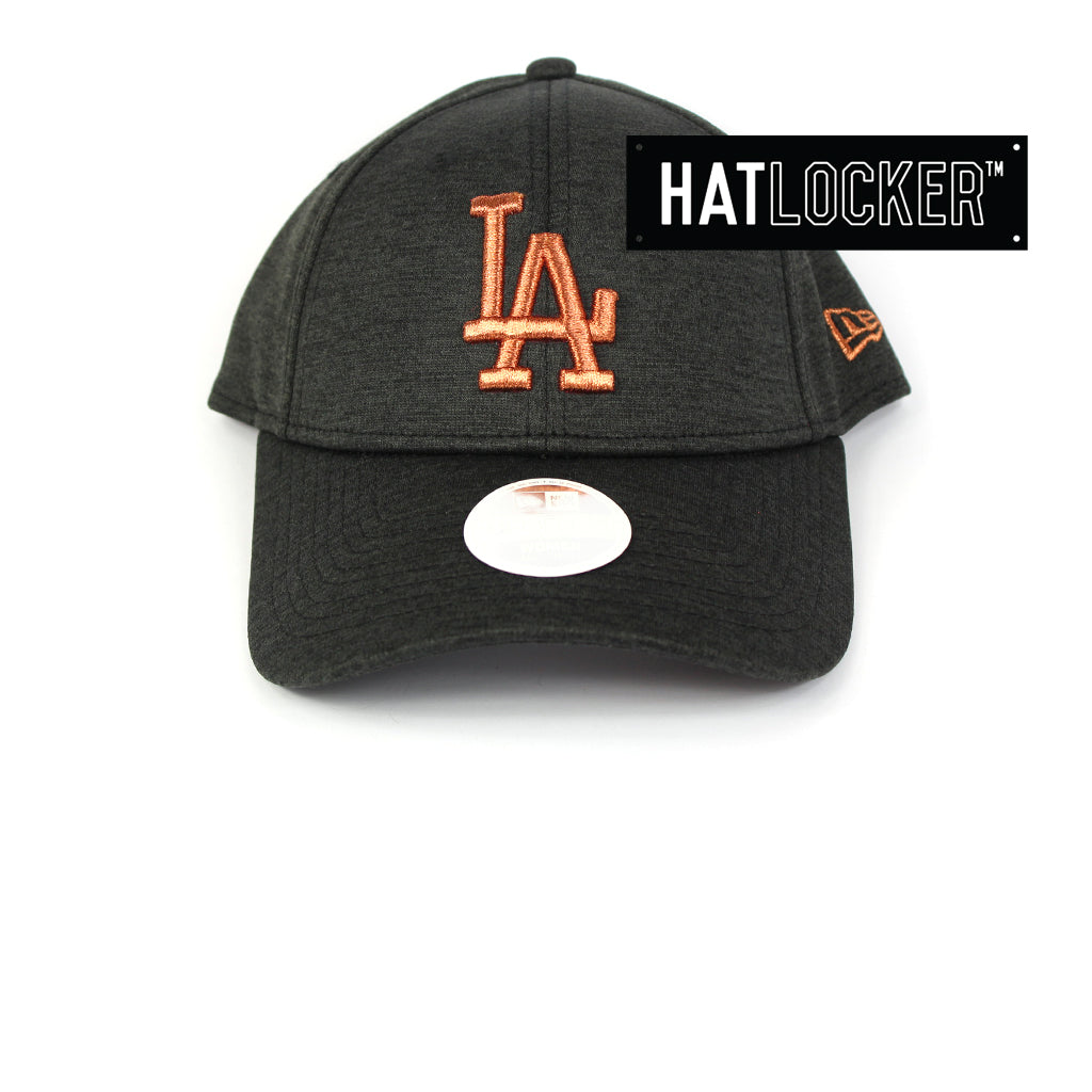 New Era Women's LA Dodgers Black Shadow Curved Brim Cap