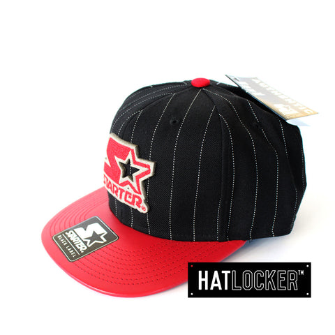 Starter - Runout Black Red Snapback