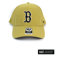 47 Brand Boston Red Sox Old Gold 47 MVP DT Curved Snapback
