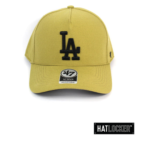 47 Brand LA Dodgers Old Gold 47 MVP DT Curved Snapback