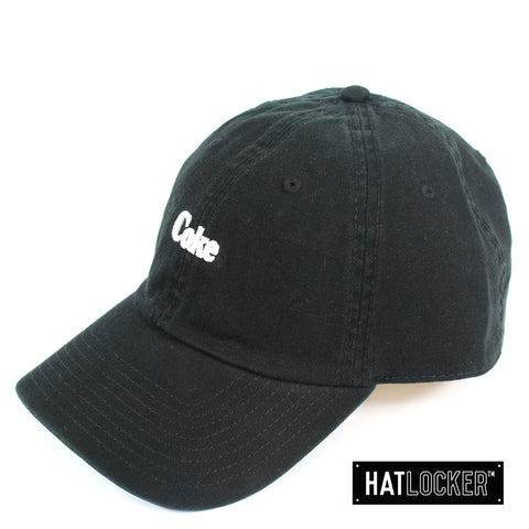 American Needle Coca Cola Washed Slouch Black Strapback