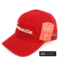 American Needle Corvette Ballpark Red Strapback