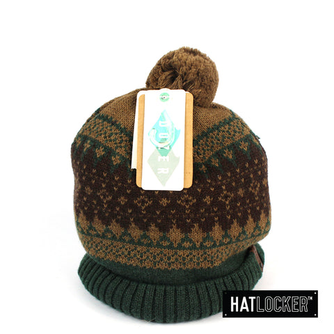 Dozer Brandon Kids Brown Boys Beanie Australia