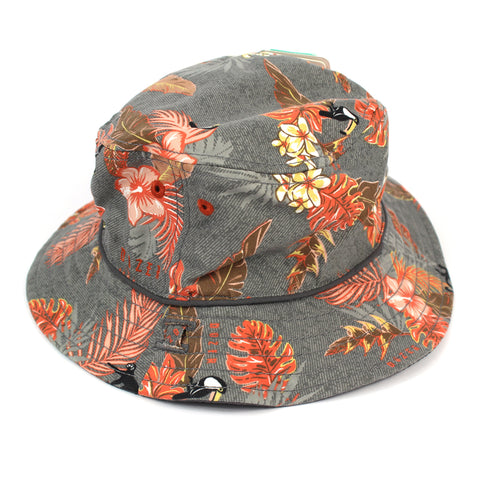 Dozer Trey Kids Charcoal Bucket Hat Australia