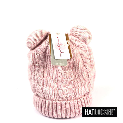 Millymook Morgan Baby Girls Lilac Beanie