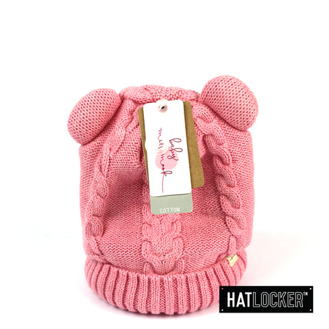 Millymook Morgan Baby Girls Pink Beanie