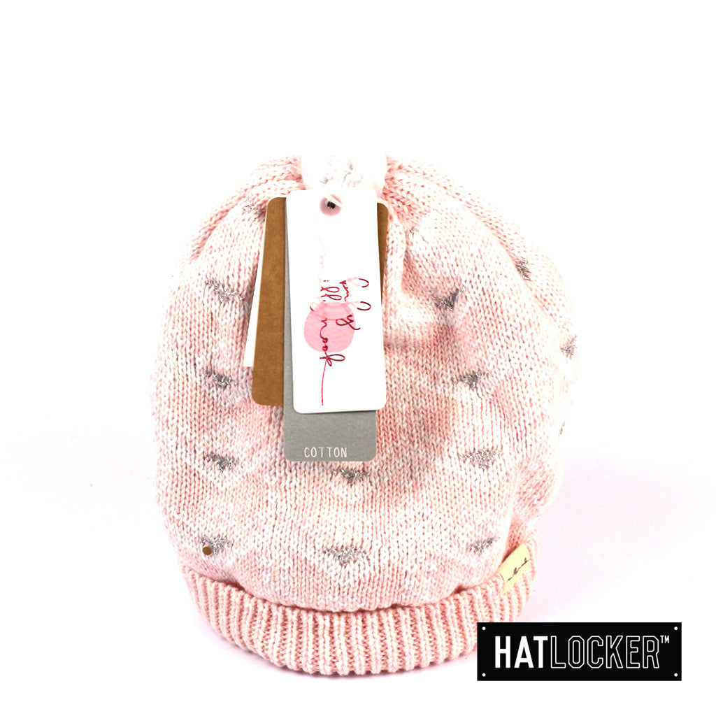 Millymook Phoebe Baby Girls Pink Beanie