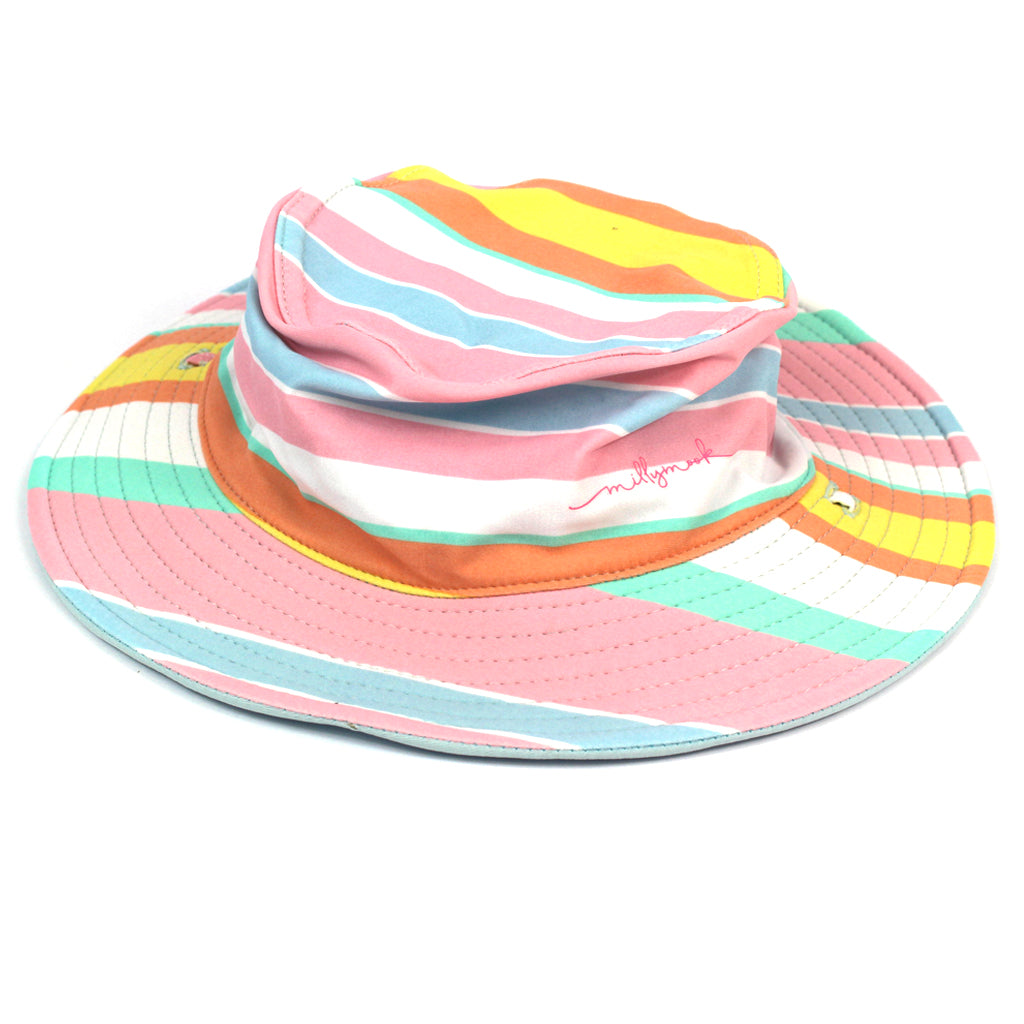 Millymook Tippy Kids Multi Kids Floppy Bucket Hat Australia