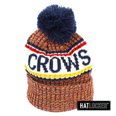 New Era Adelaide Power Authentic Team Multi Colour Pom Knit Beanie