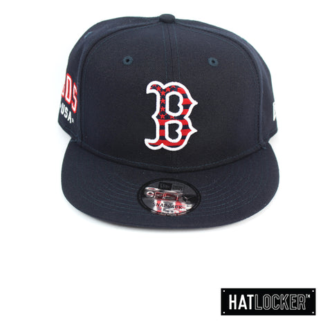 New Era Boston Red Sox July 4th Navy Snapback