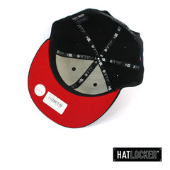 New Era Boston Red Sox Black Team Hit Snapback