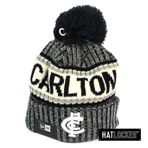 New Era Carlton Blues Authentic Team Multi Colour Pom Knit Beanie