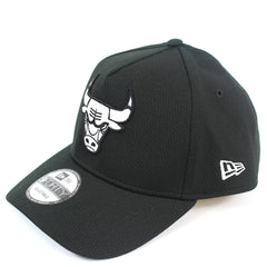 New Era Chicago Bulls BBall Mesh Black Curved Snapback
