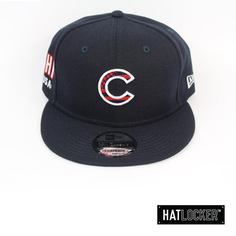New Era Chicago Cubs July 4th Navy Snapback