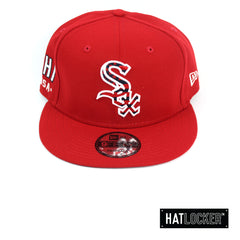 New Era Chicago White Sox July 4th Scarlet Snapback