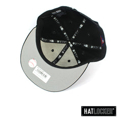 New Era Chicago White Sox Black Team Hit Snapback