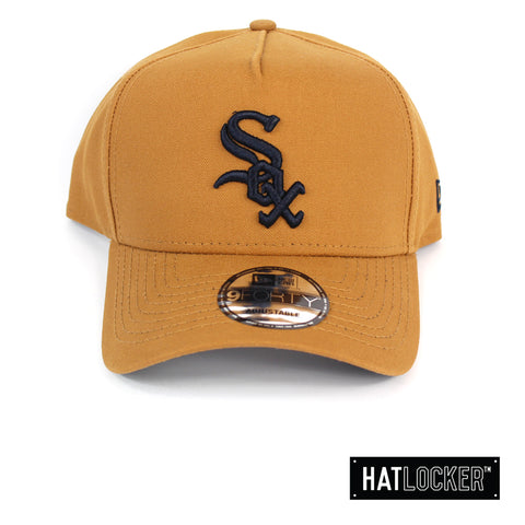 New Era Chicago White Sox Canvas In Bronze Curved Snapback