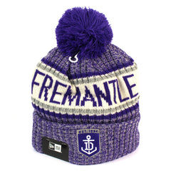 New Era Fremantle Dockers Authentic Team Multi Colour Pom Knit Beanie