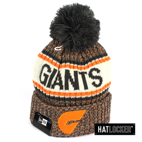 New Era GWS Giants Authentic Team Multi Colour Pom Knit Beanie