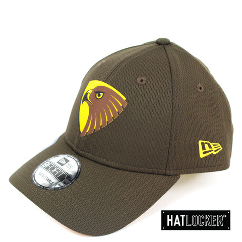 New Era Hawthorn Hawks OB 2020 Team Colour Curved Snapback
