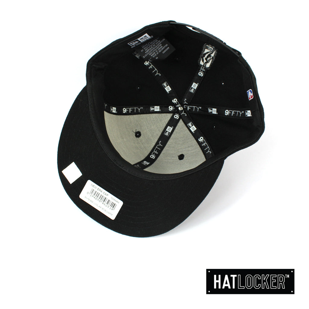 New Era LA Lakers BH Series Black On Black Snapback