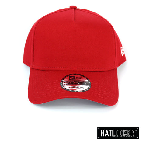 New Era NE Style Scarlet Crown Curved Snapback