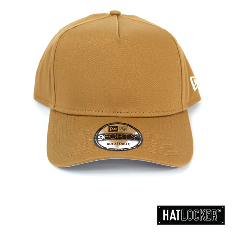 New Era NE Style Wheat Crown Curved Snapback