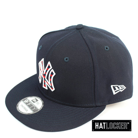 New Era New York Yankees July 4th Navy Snapback