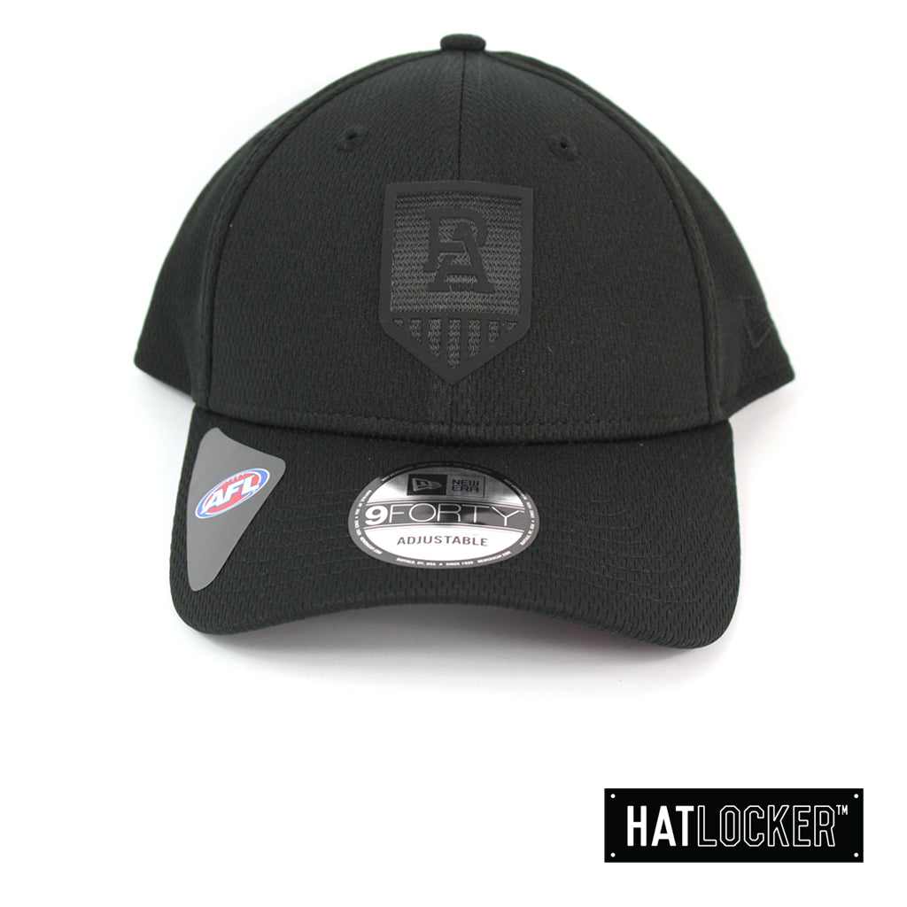 New Era Port Adelaide Power OB 2020 Black On Black Curved Snapback
