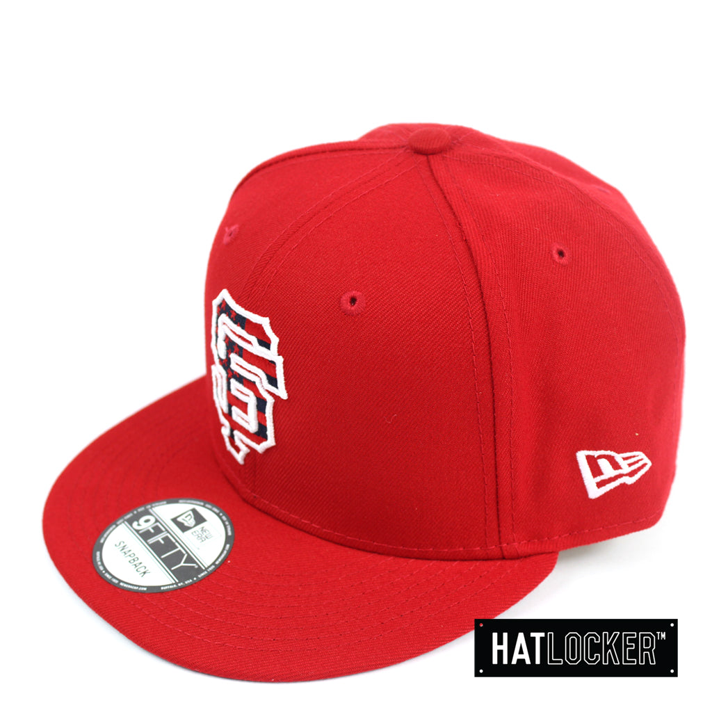 New Era San Francisco Giants July 4th Scarlet Snapback