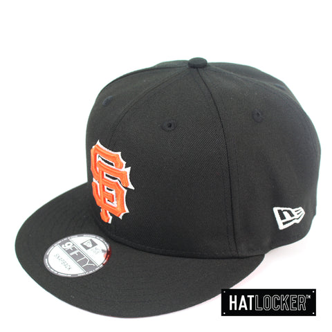 New Era San Francisco Giants Black Team Hit Snapback