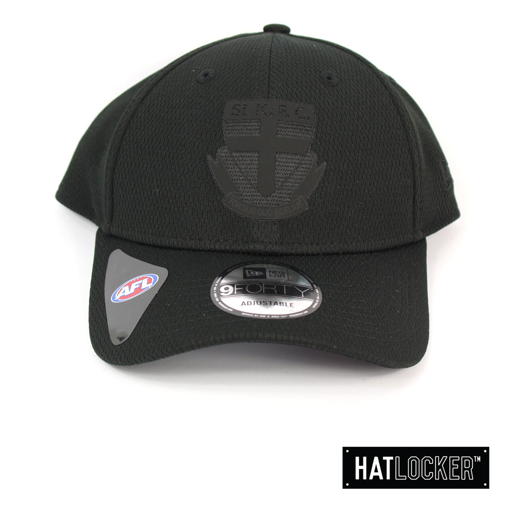 New Era St Kilda Saints OB 2020 Black On Black Curved Snapback