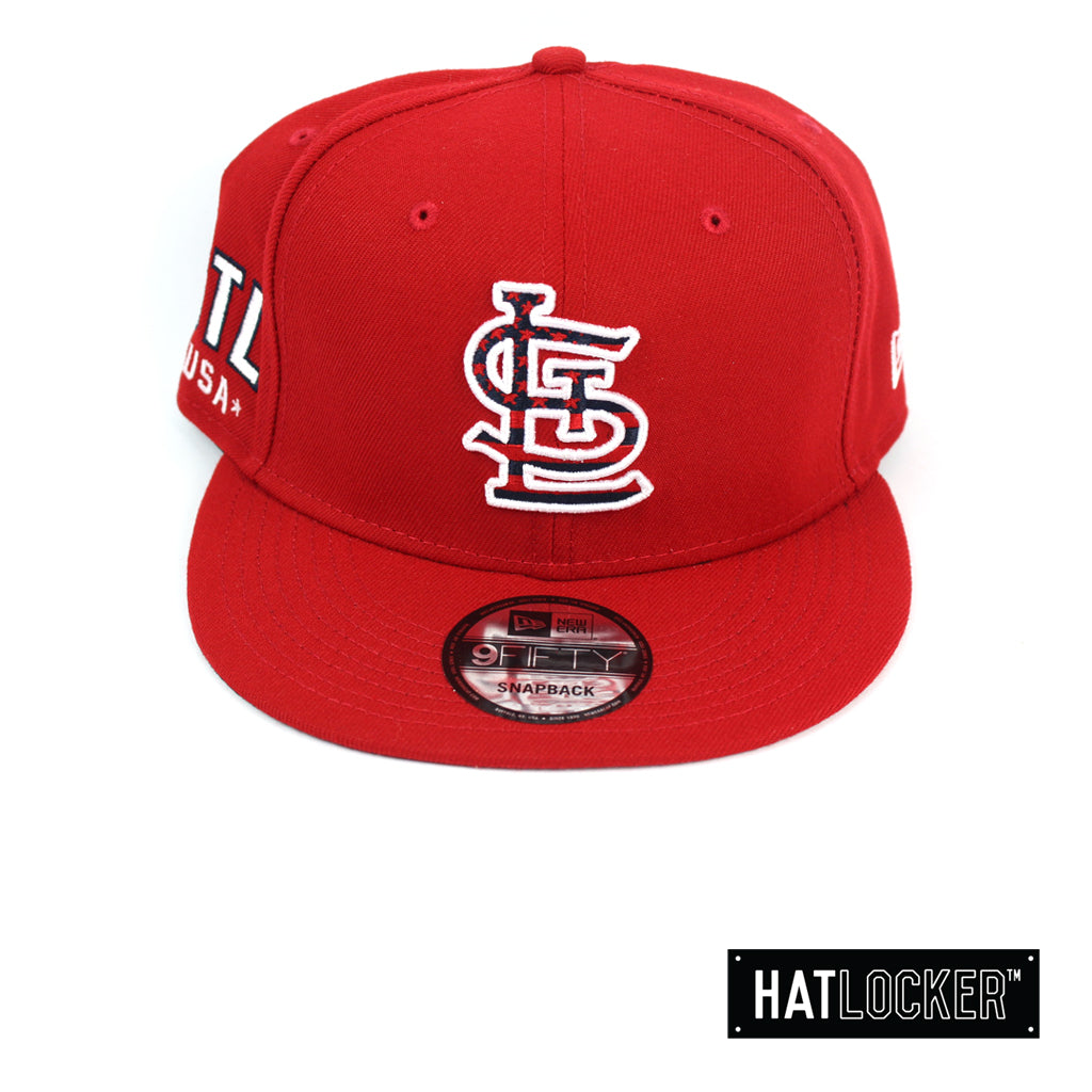 New Era St Louis Cardinals July 4th Scarlet Snapback