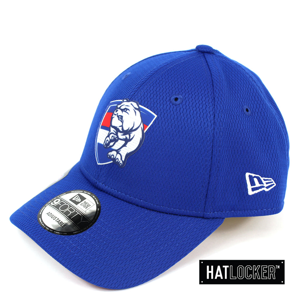 New Era Western Bulldogs OB 2020 Team Colour Curved Snapback
