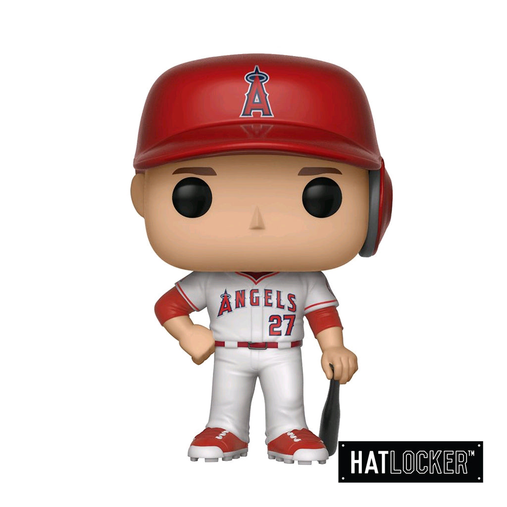 Pop Vinyl Baseball MLB Los Angeles Angels Mike Trout White Uni