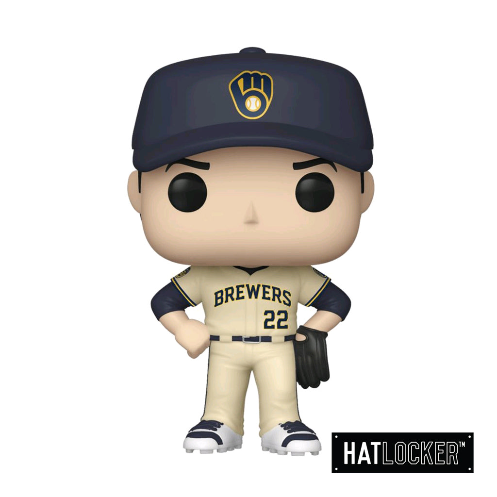 Pop Vinyl Baseball MLB Milwaukee Brewers Christian Yelich