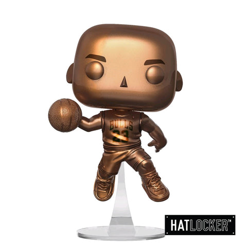 Pop! Vinyl Basketball NBA Chicago Bulls Michael Jordan Bronzed