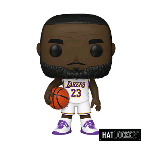 Pop Vinyl Basketball NBA LA Lakers Lebron James Alt White Jersey