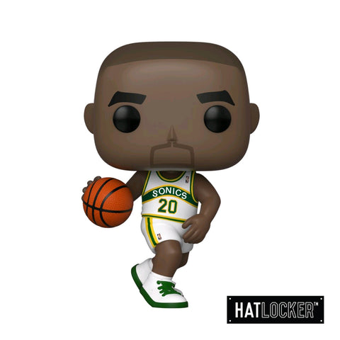 Pop Vinyl Basketball Sports Legends Gary Payton Sonics Home Jersey