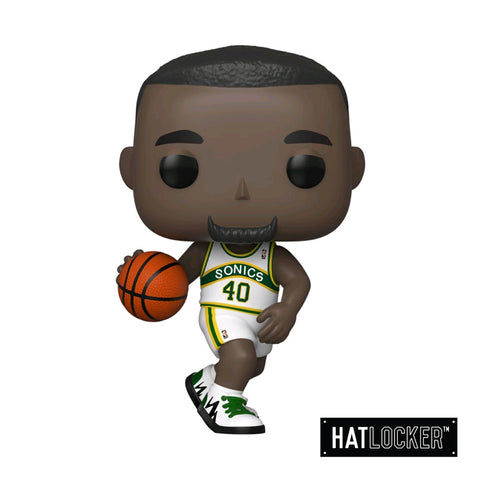 Pop Vinyl Basketball Sports Legends Shawn Kemp Sonics Home Jersey
