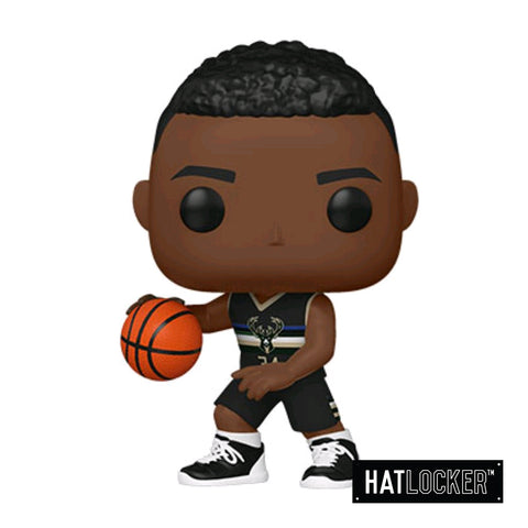 Pop Vinyl Basketball NBA Milwaukee Bucks Giannis Antetokounmpo Alt Jersey