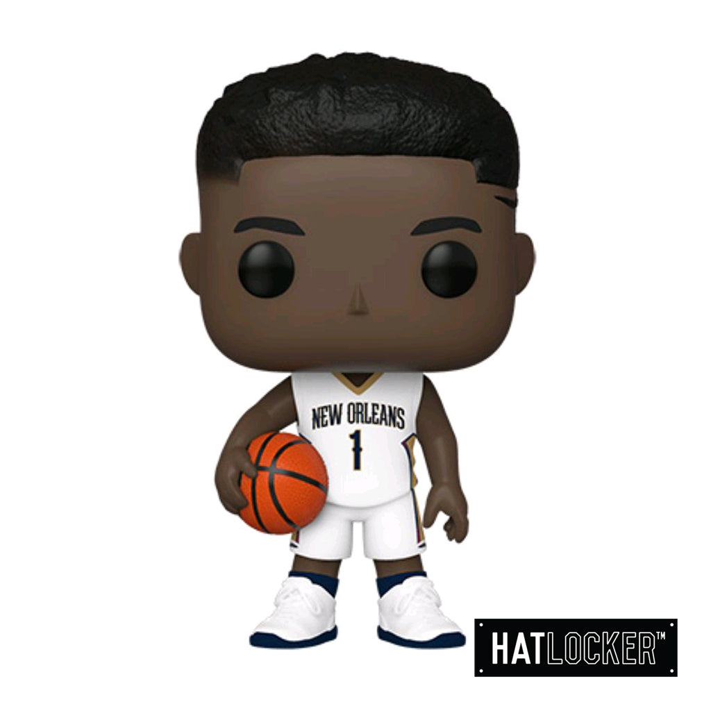 Pop! Vinyl - Basketball NBA New Orleans Pelicans Zion Williamson White Uniform