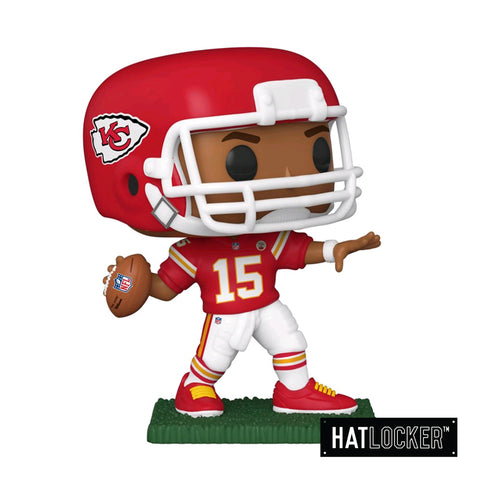 Pop Vinyl Football NFL Kansas City Chiefs Patrick Mahomes II Throw Pose